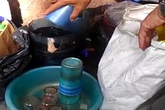 Mất vệ sinh quán nước vỉa hè